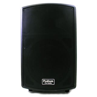 Podium Pro PP1202A Karaoke PA DJ Band Powered Active 12-inch Pro Audio 600 Watts Speaker