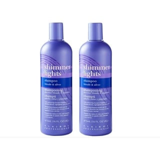 Clairol Shimmer Lights 16-ounce Shampoo (Pack of 2)
