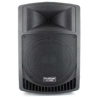 Podium Pro Audio PP1006A Battery Powered 10-inch Active Speaker with USB SD MP3 Player 500 Watt