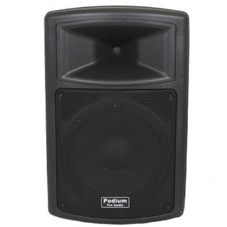 Podium Pro PP1003A Karaoke DJ Band PA Powered Active 10-inch Pro Audio 500 Watts Speaker