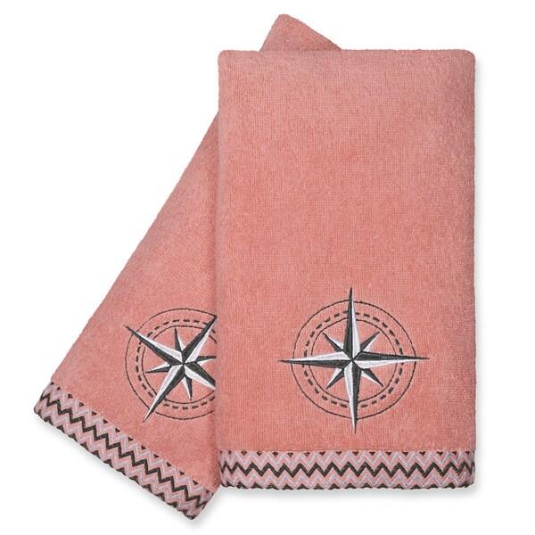 Peri Home Towels: Peri Home Compass Fingertip Towels (Set Of 2)