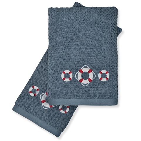 Peri Home Buoy Ring Fingertip Towels (Set of 2)