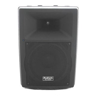 Podium Pro Audio PP1007A Bluetooth 10-inch Active Speaker MP3 USB SD 500 Watts
