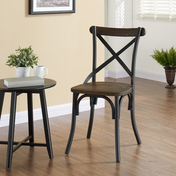 Fargo Industrial Dining Chair Free Shipping Today