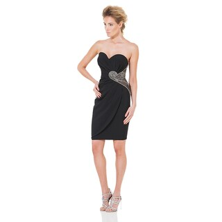 Terani Couture Strapless Sweetheart Short Dress