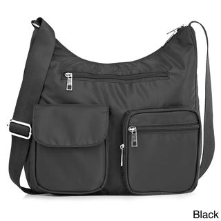 Suvelle BA10 Carryall RFID Travel Crossbody Bag