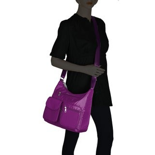 Suvelle BA10 Carryall RFID Travel Crossbody Bag