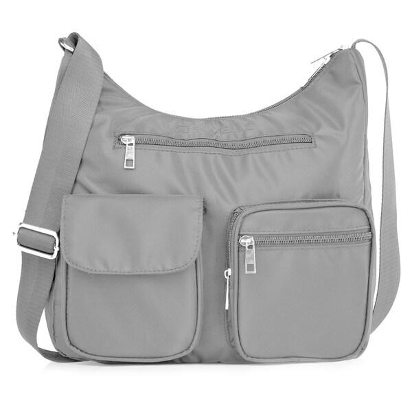 Suvelle BA10 Carryall RFID Travel Crossbody Bag - L