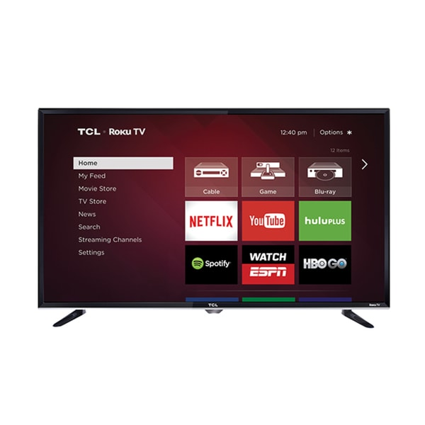 797d4d09398f Shop TCL 32S3800 32-inch 720p Roku Smart LED TV (Refurbished) - Free  Shipping Today - Overstock - 11150082