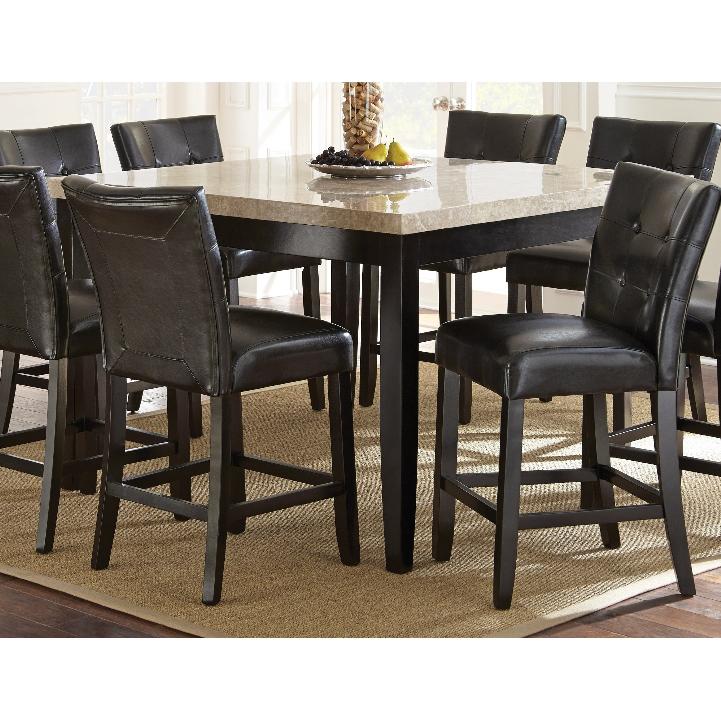 Malone Counter Height Marble Top Dining Table by Greyson ...