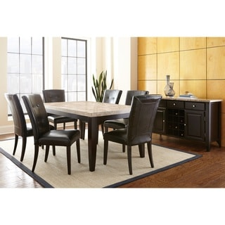 Greyson Living Malone Dining Set  sc 1 st  Overstock.com & Marble Kitchen u0026 Dining Room Sets For Less | Overstock