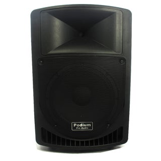 Podium Pro PP1206A Battery Powered 12-inch Active Speaker with MP3 Player 600 Watt