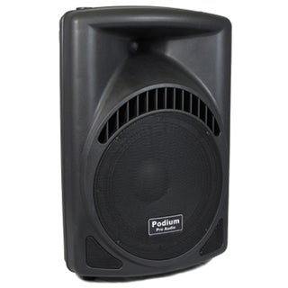 Podium Pro PP1204CA DJ PA Karaoke 600W Active Powered 12-inch Speaker w/ Flash Drive