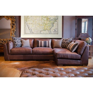 Stuart Leather Sectional Sofa