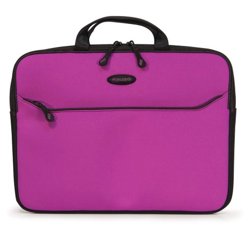 """Mobile Edge SlipSuit Carrying Case (Sleeve) for 15"""" MacBook Pro - Pur"""