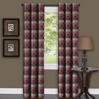 Harvard Burgundy Curtain Panel