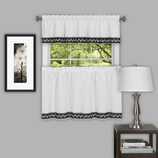 Achim Camden Curtain Tier Pair (More options available)