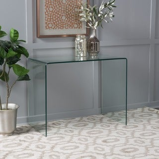 Ramona Tempered Glass Office Desk by Christopher Knight Home