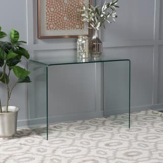 glass dining room tables. Ramona Tempered Glass Dining Table  ONLY by Christopher Knight Home Room Kitchen Tables For Less Overstock com