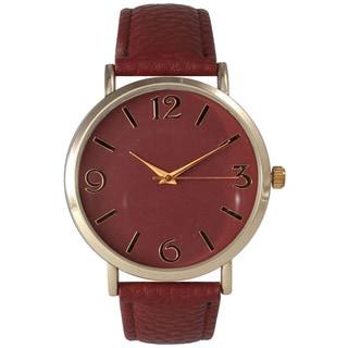 Olivia Pratt Women's Simple Leather Watch