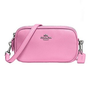 Coach Pebble Leather Crossbody Pouch