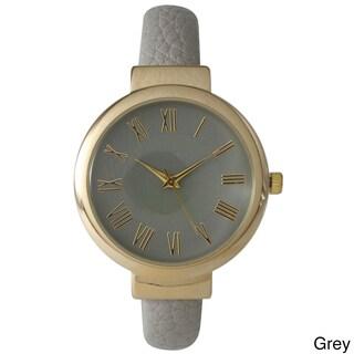 Olivia Pratt Women's Classic Inspired Skinny Cuff Watch