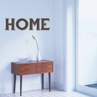 Home Wall Decal 48-inch wide x 13-inch tall