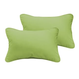 Sloane Apple Green 12 x 24-inch Indoor/ Outdoor Pillow Set