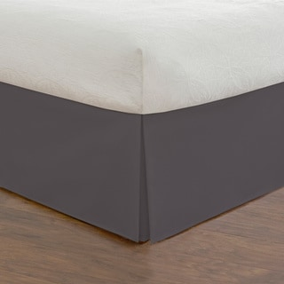 Basic Microfiber Tailored Bedskirt with 14-inch Drop