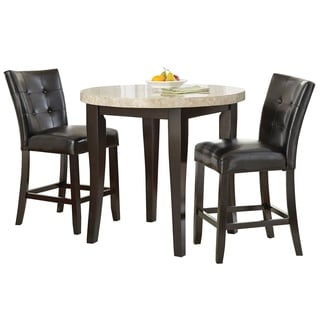 Greyson Living Malone 3PC Counter Height Dining Set