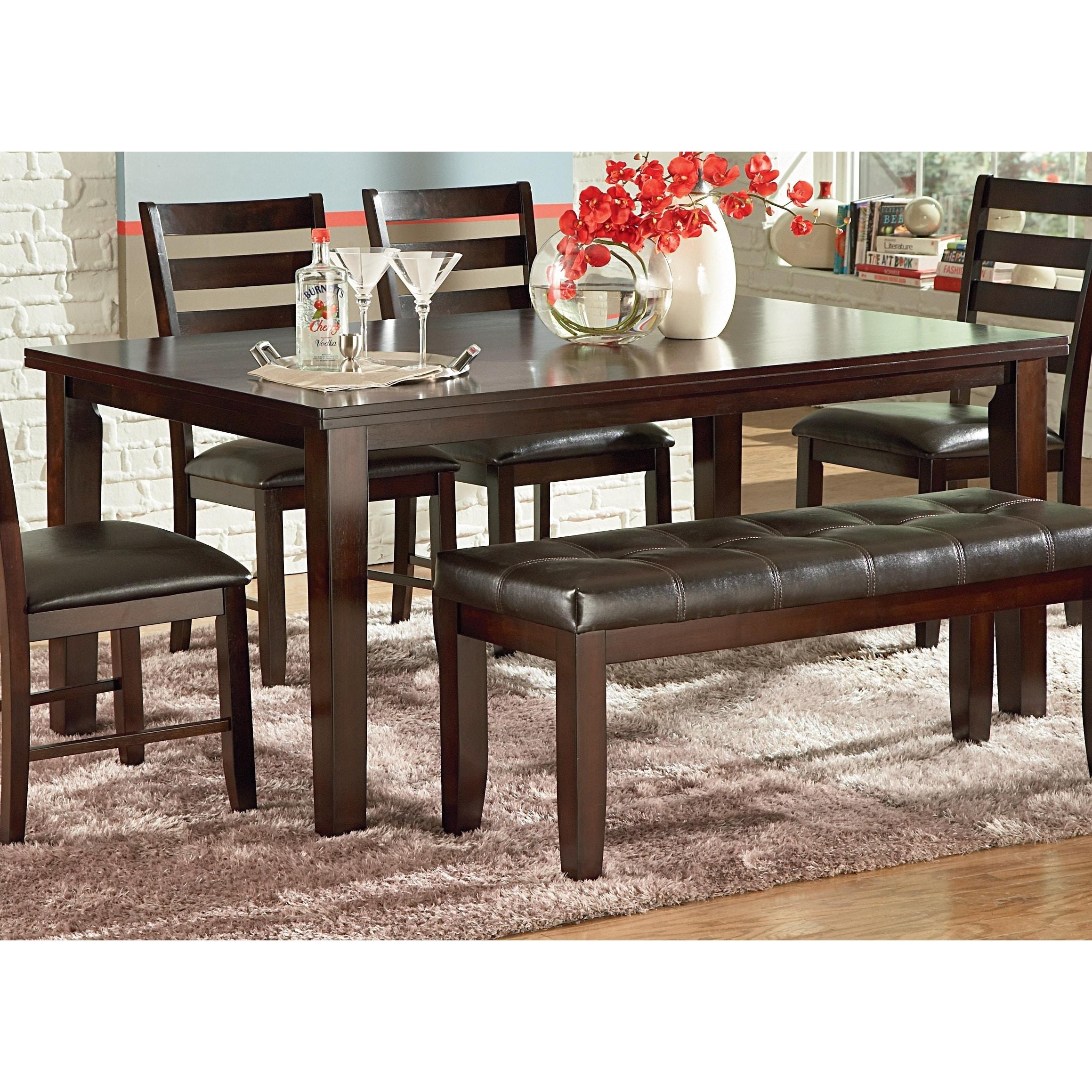 Steve Silver Greyson Living Preston 66 inch Dining Table