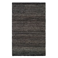 Handmade Indo Sequoia Wool/ Jute Rug (India) - 3' x 5