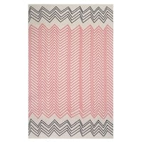 Fenway Pink Throw Blanket (India)