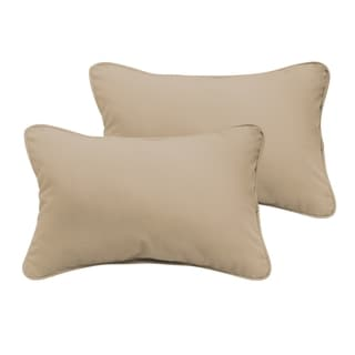 Sloane Beige 12 x 24-inch Indoor/ Outdoor Pillow Set