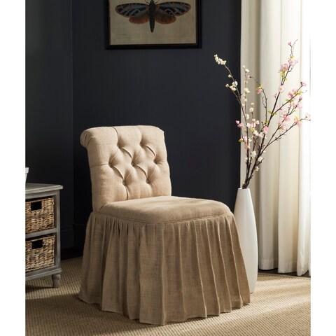Safavieh Allie Beige Vanity Chair