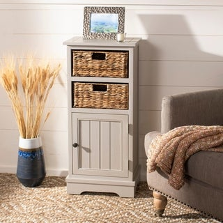 Safavieh Connery Vintage Grey Storage Cabinet