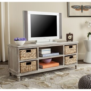 Safavieh Rooney Winter Melody 4-Drawer Storage Entertainment Console