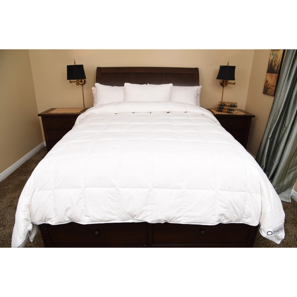 Downia Oversized Luxury White Goose Down Comforter