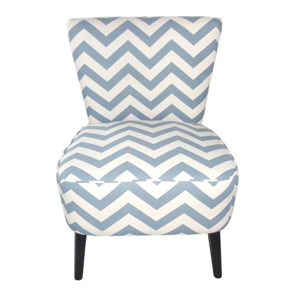 Adeco eruo cute taffy strip style fabric armless accent for Cute side chairs