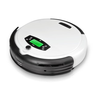 Pyle PUCRC45 Pure Clean Robot Vacuum Cleaner with Removable Dustbin, Automatic Return Charging Dock and Weekly Schedule Feature