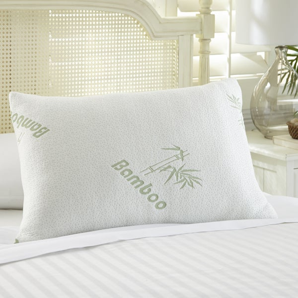 Amrapur Overseas Rayon from Bamboo Memory Foam Pillow