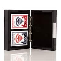 Carbon Fiber 2 Deck Poker Box