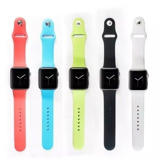 iPM Soft Silicone 38-mm Replacement Sports Band For Apple Watch
