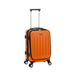 Rockland 17-inch Laptop Spinner Carry-on Business Suitcase