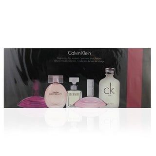Calvin Klein Deluxe Mini Variety Women's 5-piece Travel Fragrance Set