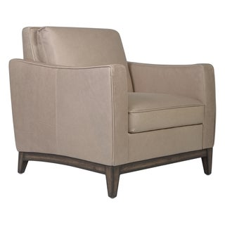 Safavieh Couture High Line Collection Hammond Beige Leather Chair
