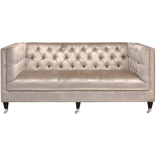 Safavieh Couture High Line Collection Miller Pearl Loveseat