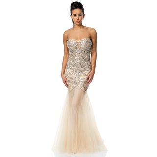 Terani Couture Sweetheart Trumpet Gown