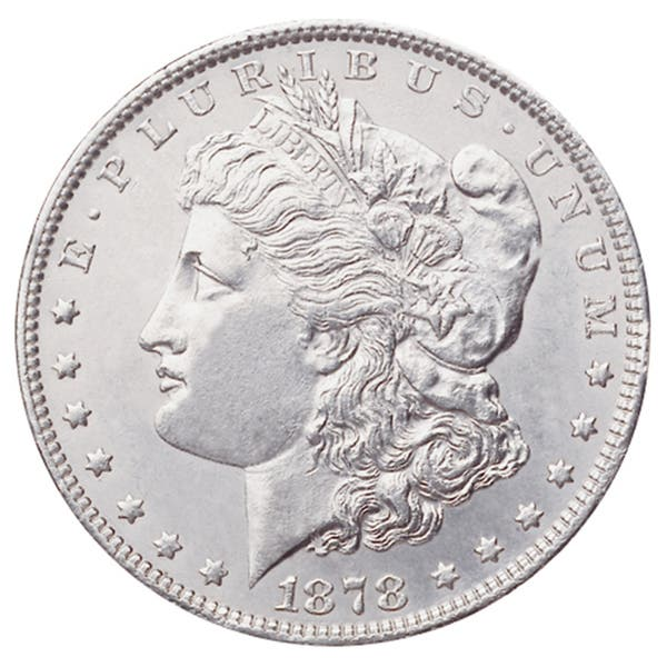 Image result for morgan silver dollar images