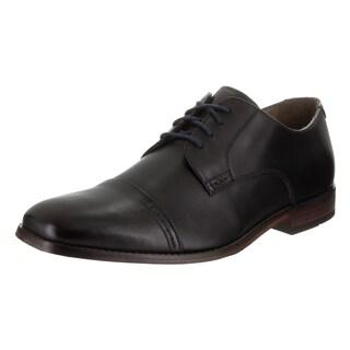 Men's Bostonian Narrate Cap Toe Derby Black Leather